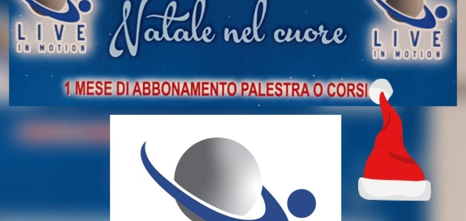 COUPON DI NATALE LIVE IN MOTION